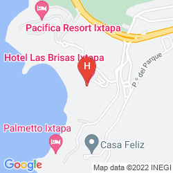 Mappa LAS BRISAS IXTAPA