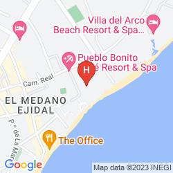 Mappa PUEBLO BONITO LOS CABOS
