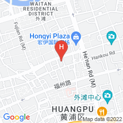 Mappa RADIUS INTERNATIONAL HOTEL  DONG DING