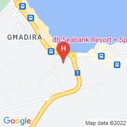 Mappa DB SEABANK RESORT + SPA