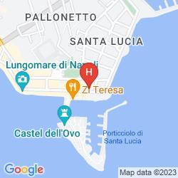 Mappa GRAND HOTEL SANTA LUCIA
