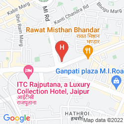 Mappa ROYAL ORCHID CENTRAL JAIPUR