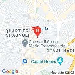Mappa RENAISSANCE NAPLES HOTEL MEDITERRANEO