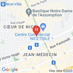 Mappa FLORENCE NICE