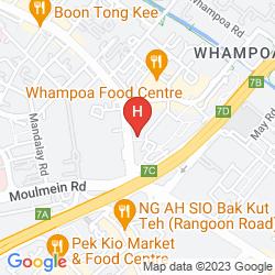 Mappa VALUE HOTEL BALESTIER