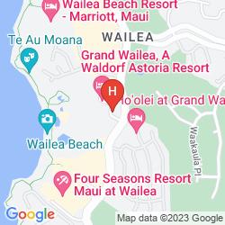 Mappa GRAND WAILEA, A WALDORF ASTORIA RESORT