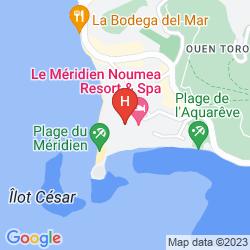 Mappa LE MERIDIEN NOUMEA