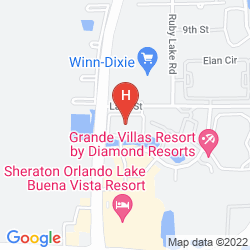 Mappa STAYBRIDGE SUITES LAKE BUENA VISTA