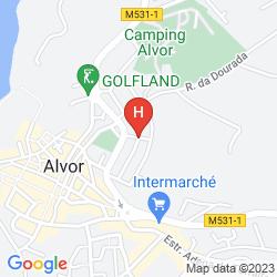 Mappa LUNA APARTHOTEL ALVOR VILLAGE