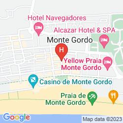 Mappa BAIA DE MONTE GORDO