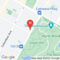 Mappa PARK WEST