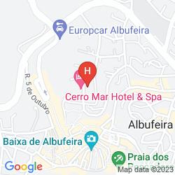 Mappa CERRO MAR ATLANTICO
