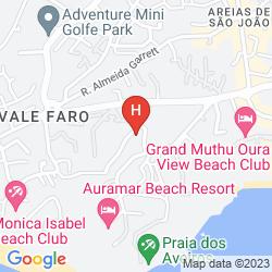 Mappa AREIAS VILLAGE HOTEL APARTAMENTO