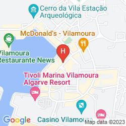 Mappa LUNA APARTHOTEL OLYMPUS