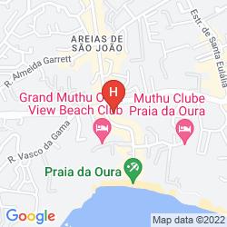 Mappa APARTAMENTOS TURISTICOS OURATLANTICO