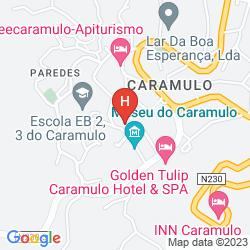 Mappa GOLDEN TULIP CARAMULO HOTEL & SPA
