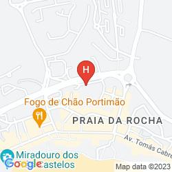 Mappa APTS. CLUBE PRAIA DA ROCHA
