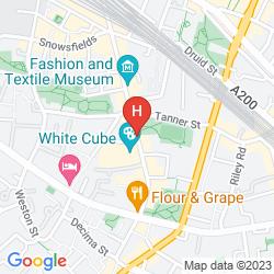 Mappa GO NATIVE LONDON BRIDGE - BERMONDSEY STREET