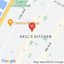 Mappa NEW YORK SKYLINE