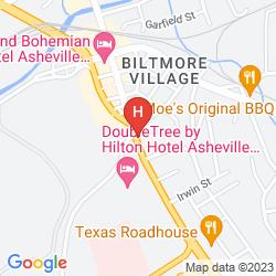 Mappa DOUBLETREE HOTEL BILTMORE-ASHEVILLE