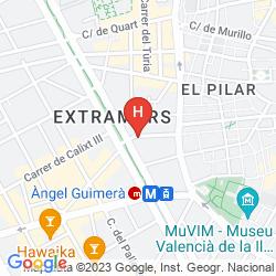 Mappa VALENCIAFLATS CENTRO CIUDAD