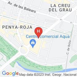 Mappa PRIMUS VALENCIA