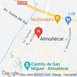 Mappa TOBOSO ALMUÑECAR