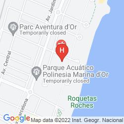 Mappa Marina D'or Hotel 3*