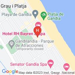 Mappa RH GIJON GANDIA