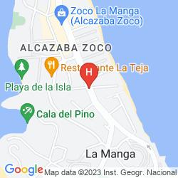 Mappa CASTILLO DE MAR