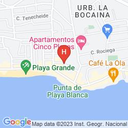 Mappa ELENA APARTAMENTOS