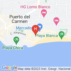 Mappa SUITE HOTEL FARIONES PLAYA