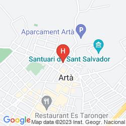 Mappa CA'N MORAGUES