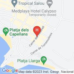 Mappa SALOU PACIFIC
