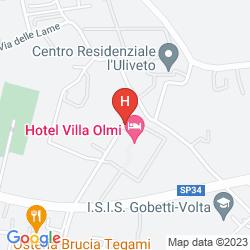 Mappa VILLA OLMI FIRENZE