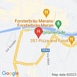 Mappa TERME MERANO