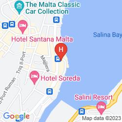 Mappa SUNNY COAST RESORT & SPA