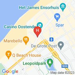 Mappa BEST WESTERN HOTEL IMPERIAL