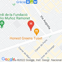 Mappa HOSTAL TUSET