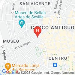 Mappa HOSTAL ZAHIRA
