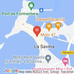 Mappa SABINA PLAYA
