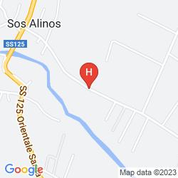 Mappa CLUB HOTEL TIRRENO