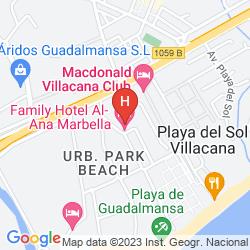 Mappa ALBERO LODGE