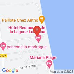 Mappa LA LAGUNE