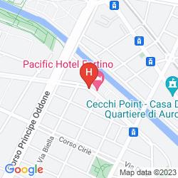 Mappa PACIFIC HOTEL FORTINO