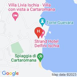 Mappa STRAND HOTEL DELFINI