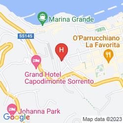 Mappa ULISSE DELUXE HOSTEL