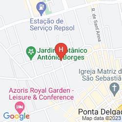 Mappa SAO MIGUEL PARK