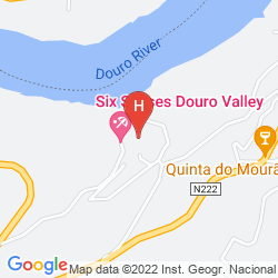 Mappa SIX SENSES DOURO VALLEY