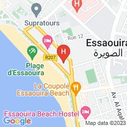 Mappa ATLAS ESSAOUIRA & SPA